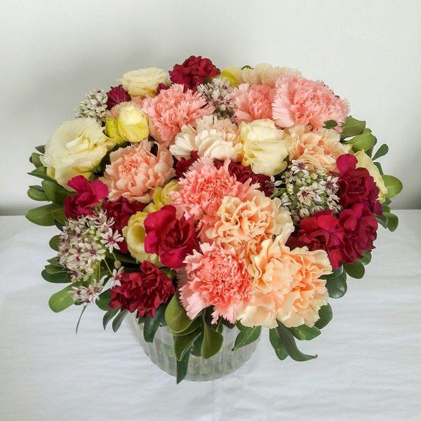 זר פרחים ענק בגדרה, רמלה, יבנה