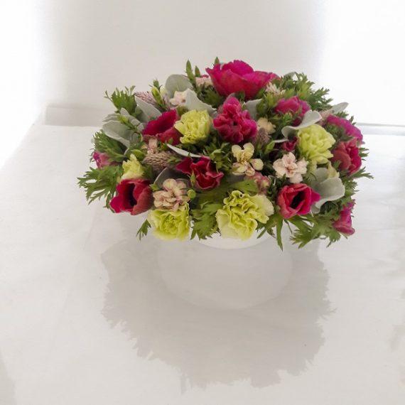 цветочные композиции на стол Беэр Яков Ашдод Хайфа
