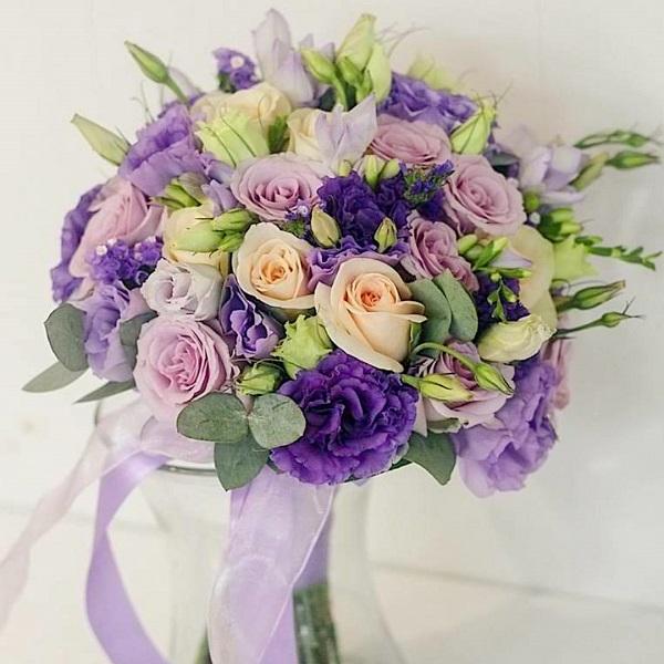 Доставка цветов в Израиле - красивый букет невесты для идеальной свадьбы в Рамат Гане Герцлии, Лод и других городах Израиля