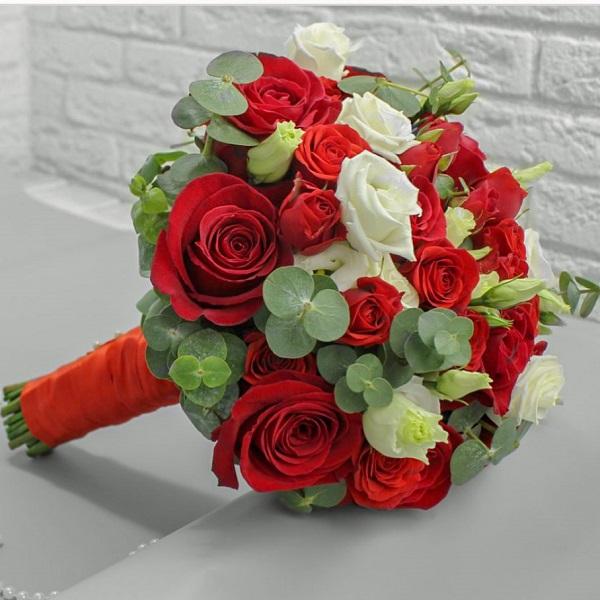 Особенный стильный букет невесты заказ онлайн, доставка в Рамат Ган, Герцлию, Лод и другие города Израиля