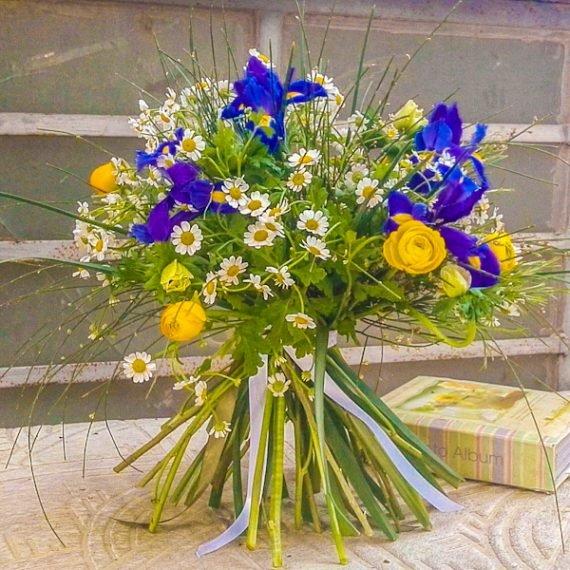 זרי פרחים בתל אביב